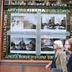 Izlozba Intolerance zero, talijanski institut za kulturu