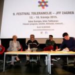 sudionici diskusije : Integracija Roma